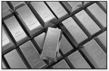 White Gold Bars